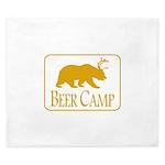 Beer Camp King Duvet