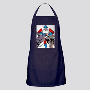 Superhero to the Rescue Apron (dark)
