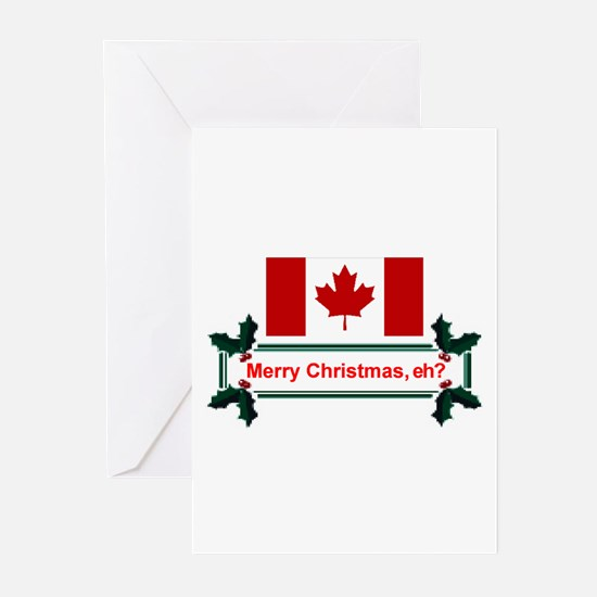 Unique Canada christmas Greeting Cards (Pk of 20)