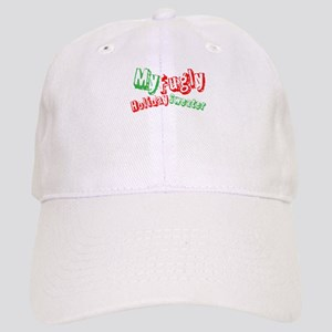 My Fugly Holiday Sweater Baseball Cap 307765875ec