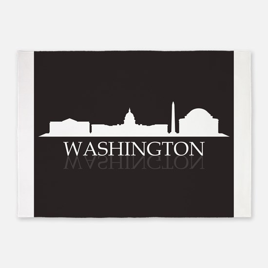 skyline washington 5'x7'Area Rug