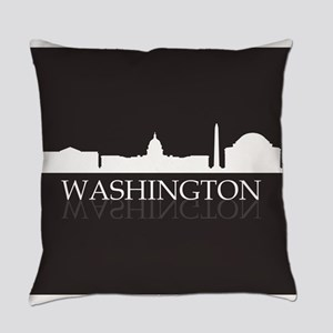 skyline washington Everyday Pillow