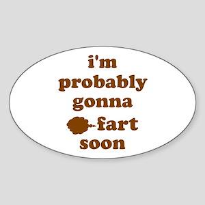 Fart Sticker (Oval)
