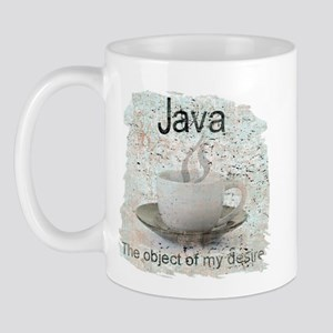 """Java-Object of my desire"" Mug"