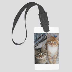 Tabby Kitty Cats Luggage Tag