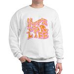 Hippie for Life Sweatshirt