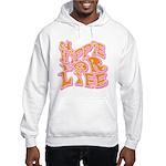 Hippie for Life Hooded Sweatshirt