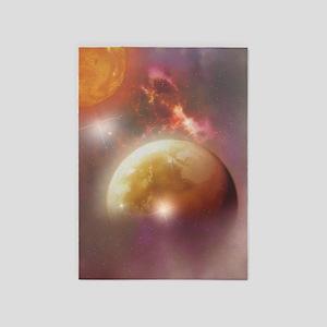 Space Dream 5'x7'Area Rug