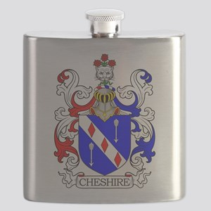 Cheshire Family Crest Flask