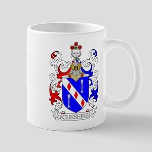 Cheshire Family Crest Mugs