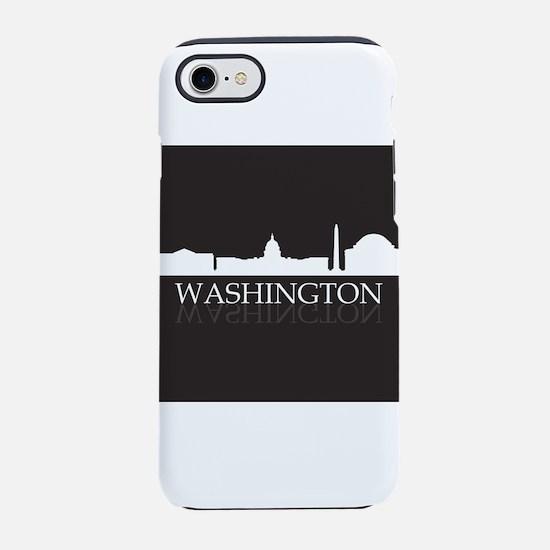 skyline washington iPhone 7 Tough Case