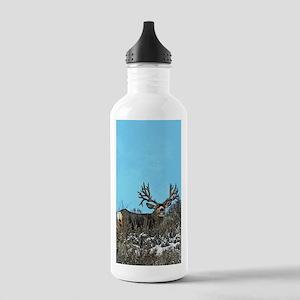 Trophy mule deer buck Stainless Water Bottle 1.0L