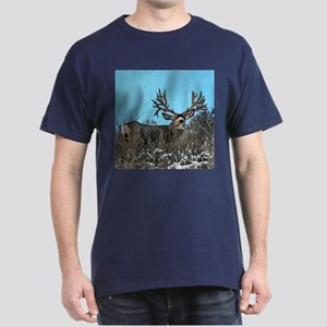 Trophy mule deer buck b Dark T-Shirt