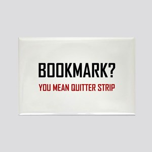 Bookmark Quitter Strip Magnets