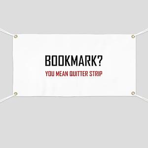 Bookmark Quitter Strip Banner