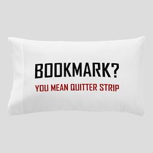 Bookmark Quitter Strip Pillow Case