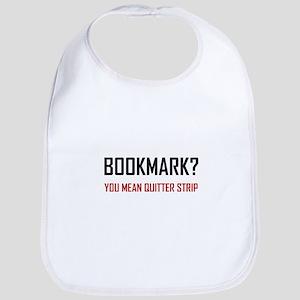Bookmark Quitter Strip Baby Bib