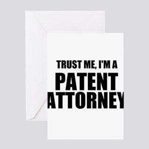 Trust Me, I'm A Patent Attorney Greeting Cards