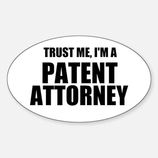 Trust Me, I'm A Patent Attorney Decal