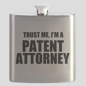 Trust Me, I'm A Patent Attorney Flask