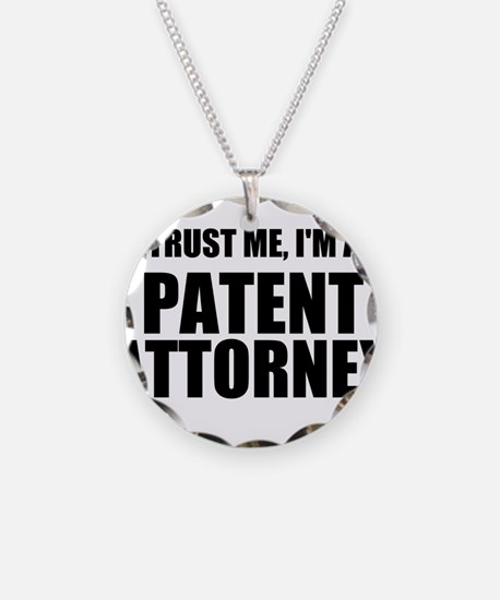 Trust Me, I'm A Patent Attorney Necklace