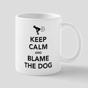 Keep Calm And Blame The Dog Mug