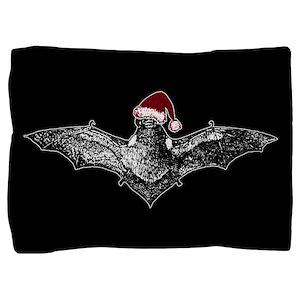 bat-santa-hat_13-5x18 Pillow Sham