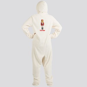 Customizable Nutcracker Footed Pajamas