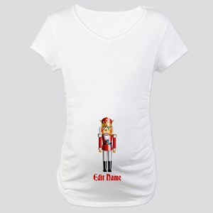 Customizable Nutcracker Maternity T-Shirt