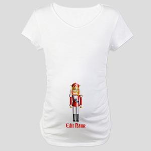 Customizable Nutcracker Maternity T-Shirt