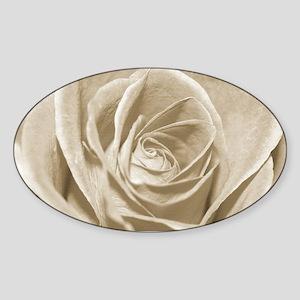 Sepia Rose Sticker