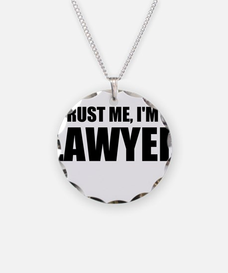Trust Me, I'm A Lawyer Necklace