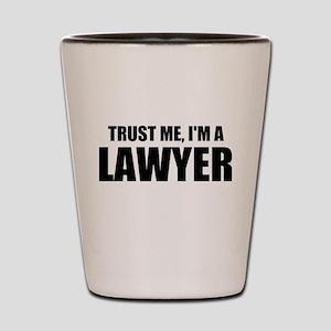 Trust Me, I'm A Lawyer Shot Glass