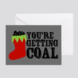 getting-coal_13-5x18 Greeting Cards