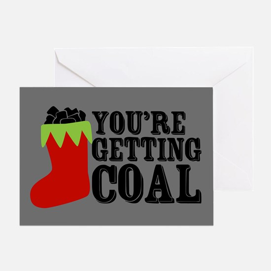 getting-coal_13-5x18.png Greeting Cards