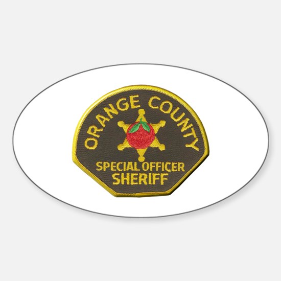 Orange County Sheriff Special Officer Decal