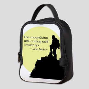 Mountains Calling Neoprene Lunch Bag