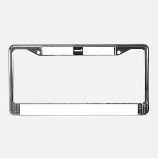 skyline washington License Plate Frame