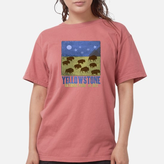 Yellowstone Park Night Sky T-Shirt