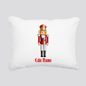 Customizable Nutcracker Rectangular Canvas Pillow