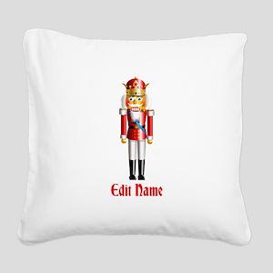 Customizable Nutcracker Square Canvas Pillow