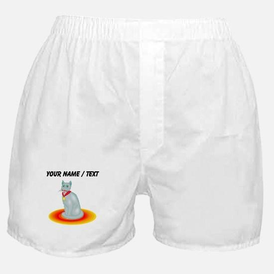 Custom Champion Cat Boxer Shorts