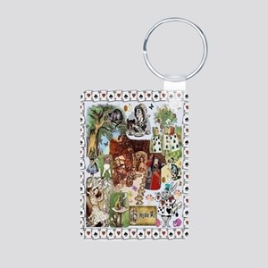 Wonderland Aluminum Photo Keychain Keychains