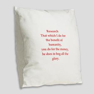 36 Burlap Throw Pillow