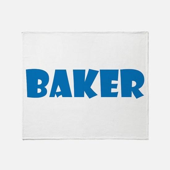 Baker Throw Blanket