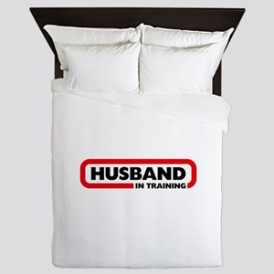 Husband in Training Queen Duvet