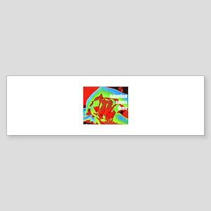red hands Bumper Sticker