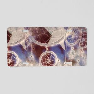 Starry Dreams Aluminum License Plate