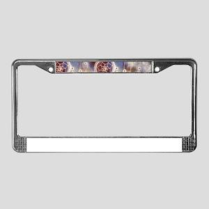 Starry Dreams License Plate Frame