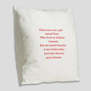 31 Burlap Throw Pillow